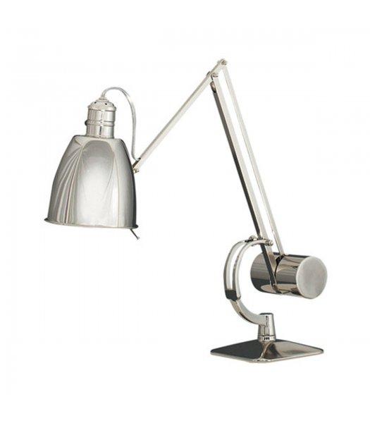 Robert Abbey Model # RA-172 Dave ARobert Abbey Model # RA-170 Dave Adjustable Desk Lamp Antique Polished Nickel Finish