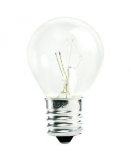 CLP6077 E17-C9 Base S11 10W Incandescent Clear Patio Light Bulbs  PACK OF 25