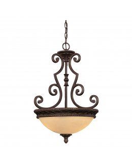 Savoy House Lighting Model  9-6723-1-213 Shadwell Wall Sconce Light Fixture English Bronze-Clear Watered Finish