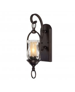 Savoy House Lighting Model KP-104-6-91 Bryce Up Chandelier Sunset Bronze-Cream Faux Alabaster Finish