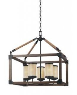 "Sea Gull Lighting 3113305-846 Dunning 22"" Chandelier"