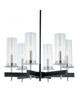 Sonneman A Way of Light Model 3404.04 Handerchief Semi-Flush Mount Ceiling Light Fixture Satin Silver-Etched Glass Finish