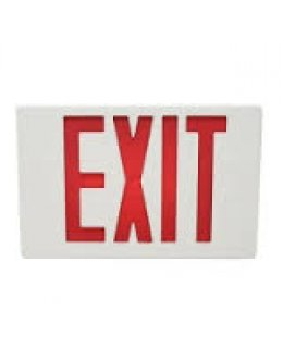 MXMLEU2RWEM 4W LED Emergency Exit Sign RED