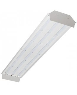 TCPTCPLB4UNI841K10CSPF  LED Low Bay Fixture 8,000 lumens 4100K  NO COVER OR WIRE GUARD