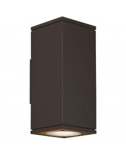 Tech Lighting Model 700OWTEG84018NWCZUDUNV  18 Inch High Tegel Outdoor Up-Down Wall Sconce Light Fixture 4000K Bronze Finish