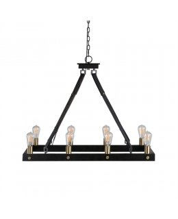 Uttermost Lighting 21279 Marlow Rectangle Chandelier