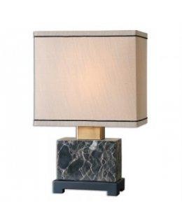 Uttermost Lighting Model  29975-1 Anadell Table Lamp Black-Beige Finish
