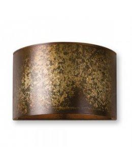 Uttermost 22500 Wolcott Wall Sconce Light Fixture Golden Galvanized Finish