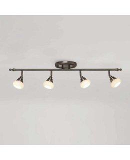 WAC Lighting Model  TK-48536-AN  Monterrey 4 Light LED Ceiling Vanity Light Fixture Antique Nickel Finish