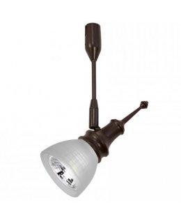 Wac Lighting Model LM-K8611-WT-DB Windsor 5 Light Solorail Track Light Kit Dark Bronze-White Finish