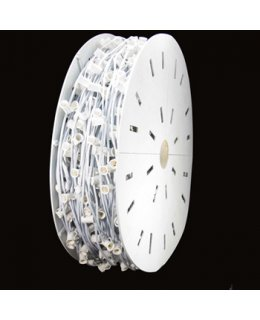"CLU72930 C9 E17 - Intermediate Light Spool, 500' Length, 12"" Spacing, 7 Amp SPT1 White Wire, Commercial Grade"