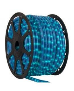 CLU16921 STEADY Incandescent Pearl Blue Rope Light, 150 ft, 2 Wire, 120 Volt