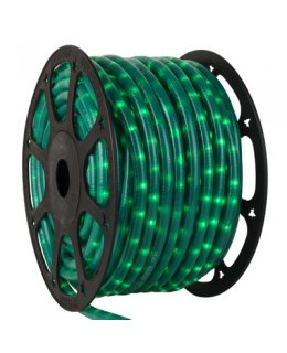CLU18639  STEADY Incandescent Pearl GREEN150 ft, 2 Wire, 120 Volt